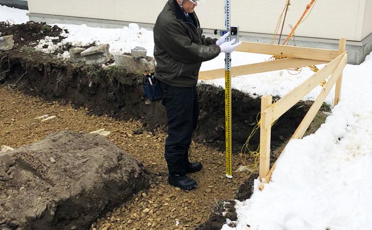 掘削施工検査