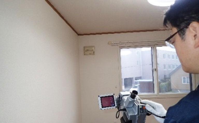 サーモカメラ赤外線装置法による断熱気密性能検査