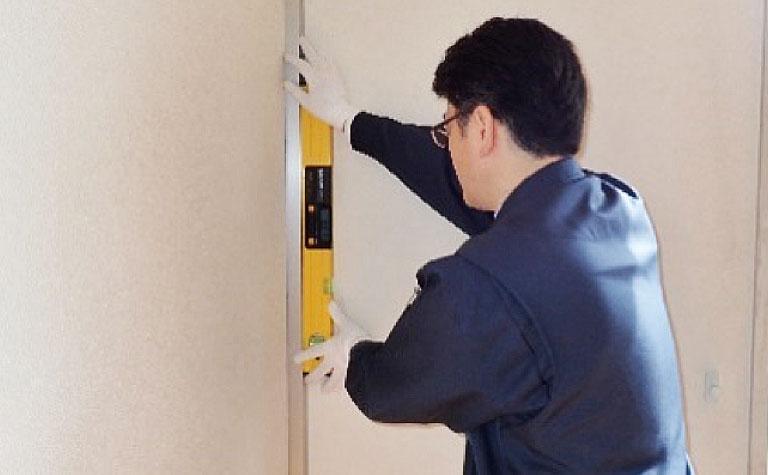 各居室床変動障害・柱の傾斜存否調査